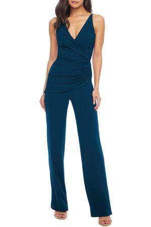 Dress The Population Women's Sam Ruched Jumpsuit