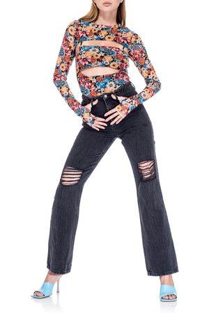 AFRM Women's Yale Mesh Shrug Bodysuit