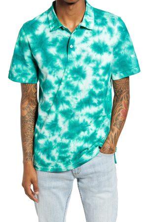 BP. Men Polo Shirts - Men's Tie Dye Organic Cotton Polo Shirt