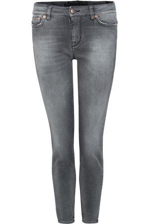 Drykorn Dames Skinny Jeans Grijs 260123 6500