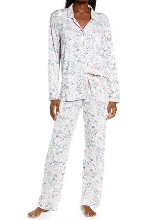 Papinelle Women's Soft Kate Floral Print Pajamas