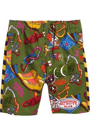 Billionaire Boys Club Boys Shorts - Toddler Boy's Kids' Day Hike Print Shorts