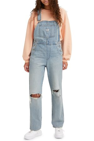 levi's Women's Ripped Overalls
