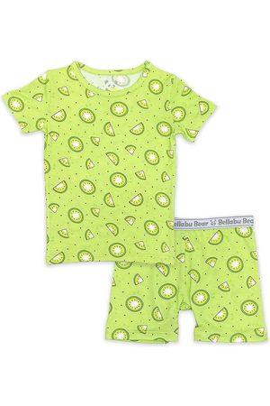 Bellabu Bear Toddler Boy's Kids' Kiwi Two-Piece Fitted Pajamas
