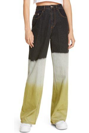 BY.DYLN Women's By. dyln Claude High Waist Wide Leg Jeans