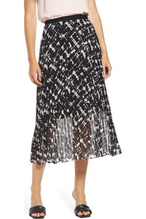 HalogenR Women's Halogen Pleated Midi Skirt