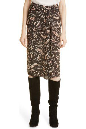 Ba & sh Women's Camille Printed Skirt