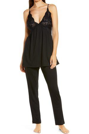 Natori Women Nightdresses & Shirts - Women's Lace Trim Pajamas
