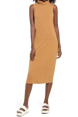VERO MODA Women's Tammie Sleeveless Turtleneck Jersey Dress