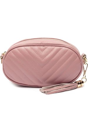 Dusty Rose Quilted Pebble Bag