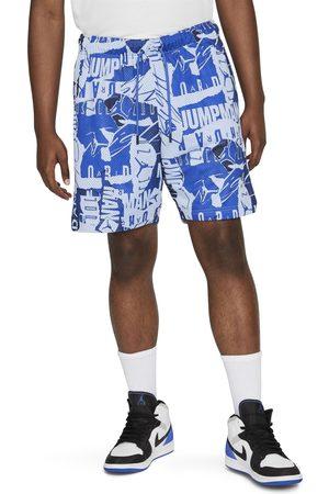 Jordan Men Shorts - Men's Essentials Print Mesh Shorts