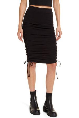 BB Dakota by Steve Madden Women Pencil Skirts - Women's Cinch By Cinch Ruched Pencil Skirt