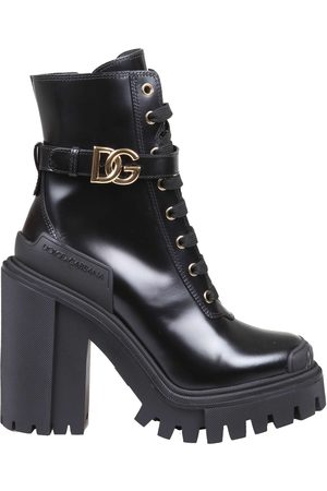 Dolce & Gabbana Women Outdoor Shoes - Hi-trekking boots in brushed calfskin