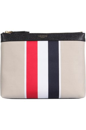 Thom Browne Women Toiletry Bags - TOILETRY CANVAS CASE