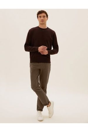 M&S Collection Regular Fit Stretch Chinos