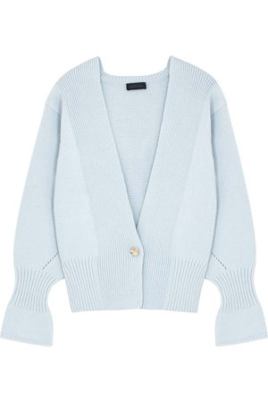 EUDON CHOI Bella light wool-blend cardigan