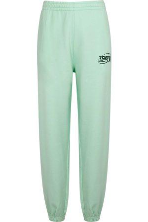 7 Days Active Monday mint cotton sweatpants