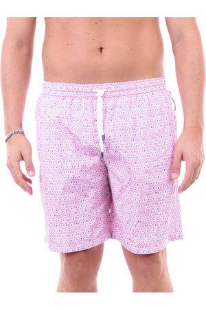 FEDELI Sea shorts Men and fuchsia