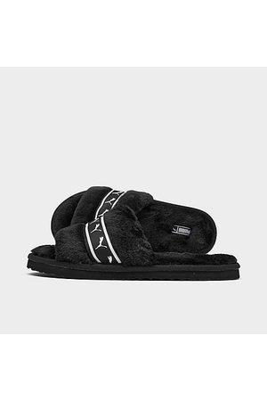 Puma Girls Sandals - Girls' Big Kids' Fluff Remix Slides JR in / Size 4.0 Fur