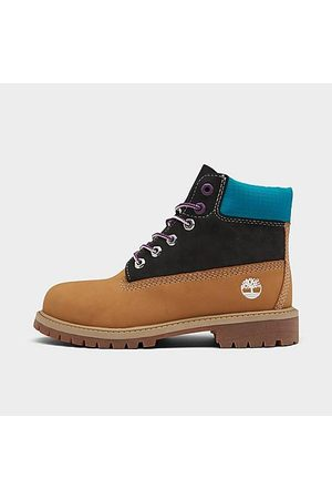 Timberland Little Kids' 6 Inch Classic Premium Waterproof Boots Size 1.0 Leather
