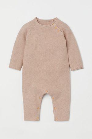 H & M Knit Cotton Jumpsuit