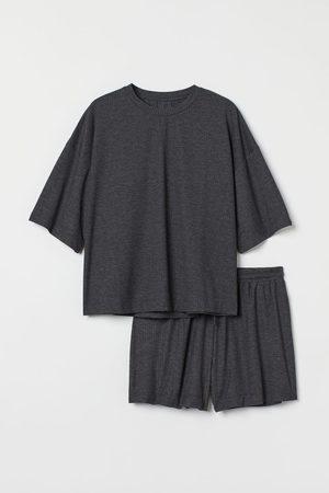H & M Women Pajamas - Ribbed Pajamas