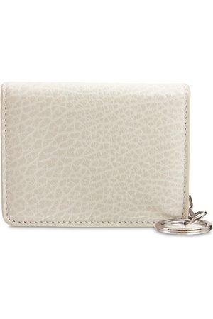 MAISON MARGIELA Grained Leather Card Holder