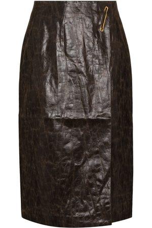 Rejina Pyo Women Pencil Skirts - Delores faux-leather skirt