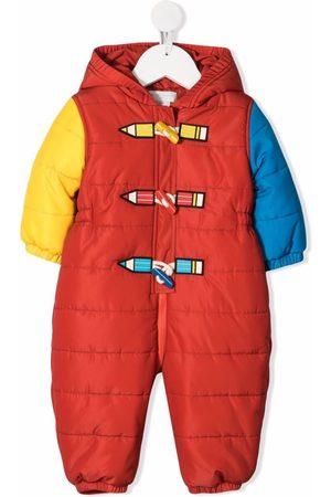 Stella McCartney Kids Ski Suits - Colour-block padded snowsuit