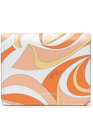Emilio Pucci Vortici pattern bi-fold purse
