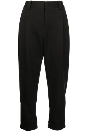 3.1 Phillip Lim Women Formal Pants - PLEAT FRONT TAPERED CUFFED TAILORED TROUSER