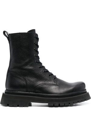 AMI Paris Lace-up ankle boots