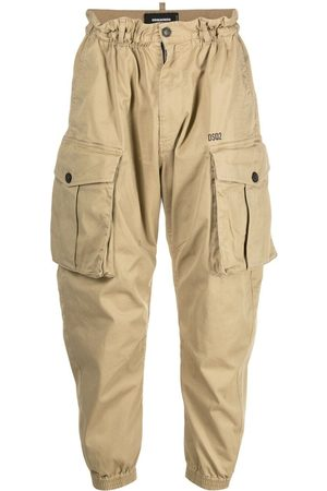Dsquared2 Men Cargo Pants - Tapered cargo trousers - Neutrals