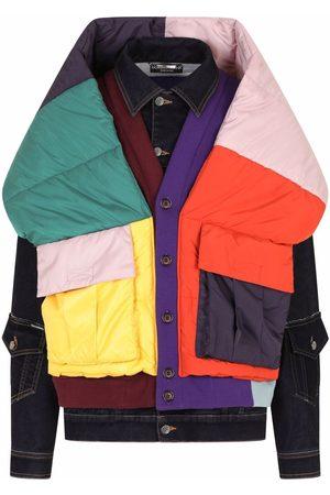 Dolce & Gabbana Layered patchwork jacket - Multicolour
