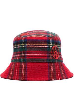Ruslan Baginskiy Women Hats - Lampshade tartan bucket hat