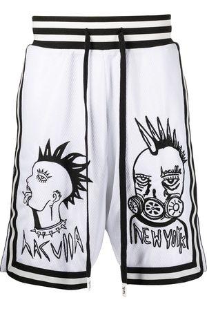 HACULLA Face Off print basketball shorts
