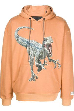 MOSTLY HEARD RARELY SEEN Dino-print hoodie