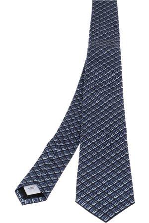 Burberry Pebble Monogram Manston Narrow Silk Tie