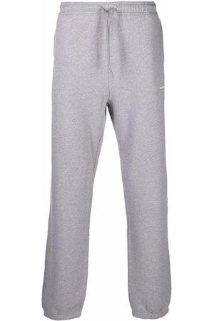 Sandro Paris Embroidered-logo joggers - Grey