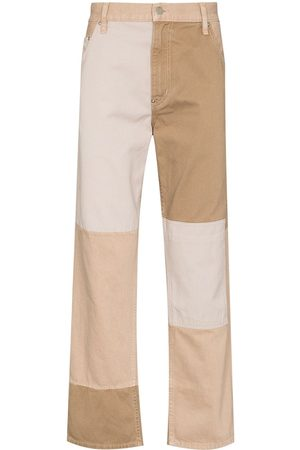 Helmut Lang Patchwork tapered jeans - Neutrals