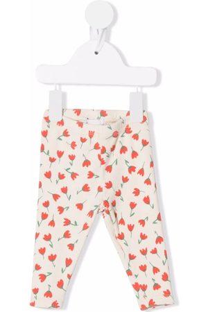 Bobo Choses Floral-print leggings - Neutrals