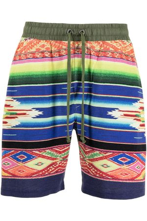 Polo Ralph Lauren Printed cotton drawstring shorts