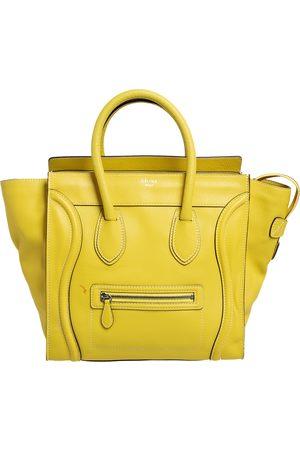 Celine Leather Mini Luggage Tote