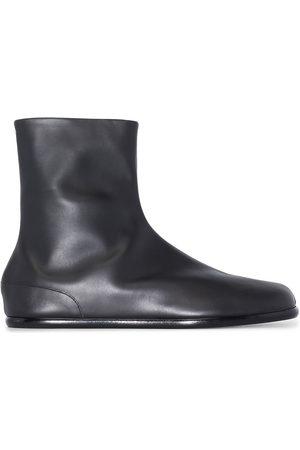 Maison Margiela Men Ankle Boots - Tabi flat ankle boots