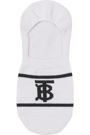 Burberry Socks - Monogram-intarsia sneaker socks