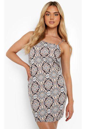 Boohoo Womens Paisley Mini Slip Dress - - 4