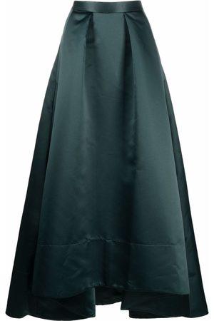 Pinko Women Maxi Skirts - High-waisted flared maxi skirt