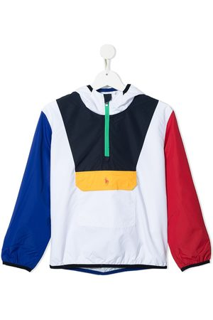 Ralph Lauren Kids Colour-Blocked Pullover Jacket - Multicolour
