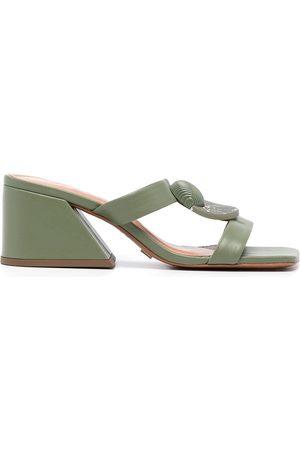 Vicenza Women Heeled Sandals - Block heel sandals