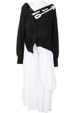 Junya Watanabe Women Asymmetrical Dresses - Layered asymmetric dress